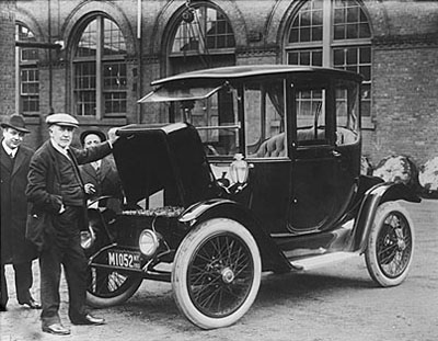 Electric Cars In 1908?