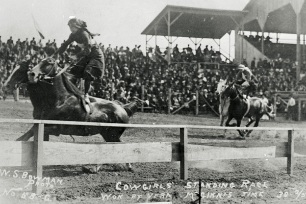 Vera McGinnis, Daring Rodeo Queen