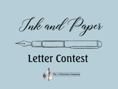 Ink And Paper Letter Contest - The J Peterman Company - Peterman's Eye