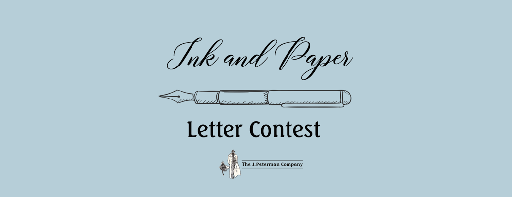 Ink And Paper Letter Contest