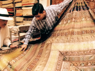 Textiles India - The J Peterman Company - Peterman's Eye