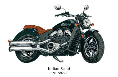 Indian Scout Motorcycle – The J Peterman Company
