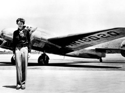 Amelia Earhart Lockheed Electra - Peterman's Eye - The J. Peterman Company