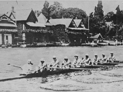 Row Row Row Your Boat Harvard 1914 - Peterman's Eye - The J Peterman Company Henley Boater