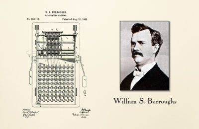 William S Burroughs Adding Machine Patent – The J Peterman Company – Peterman's Eye