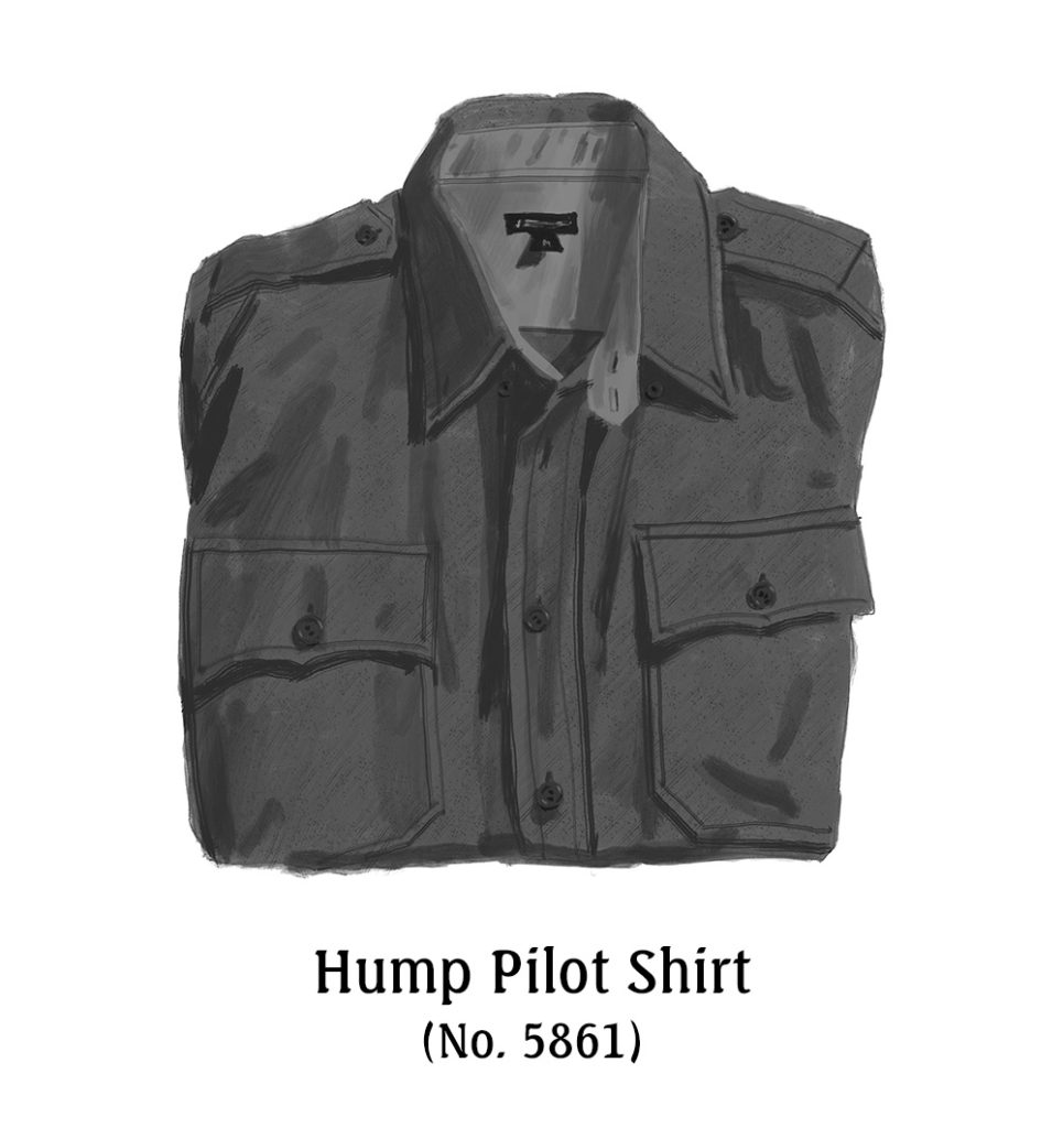 Hump Pilot Shirt No 5861 - The J Peterman Company